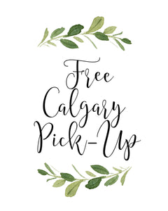 Free Calgary Pickup - Lake Bonavista SE location