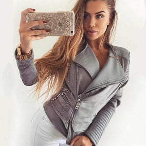 Fashion Suede Jacket