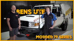 Upgrading Bens 79 Series Landcruiser with Dan Kronk from A2Z 4x4