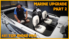 Installing the NEW Marine Power Upgrade for the Top Ender Pro || PART 2 || Solar 'N' Sat Installs