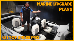 Planning out a New Marine Power Upgrade for the Top Ender Pro || Solar 'N' Sat Installs