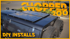 Dual Battery System - Chopped 200 Series Solar Install