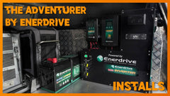 Pre-wired Enerdrive Lithium Battery System - Solar N Sat
