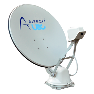 Satellite Dish Altec UEC Halo ST85 Clear Background PNG