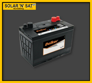 Battery Delkor HDC24 80ah Deep Cycle