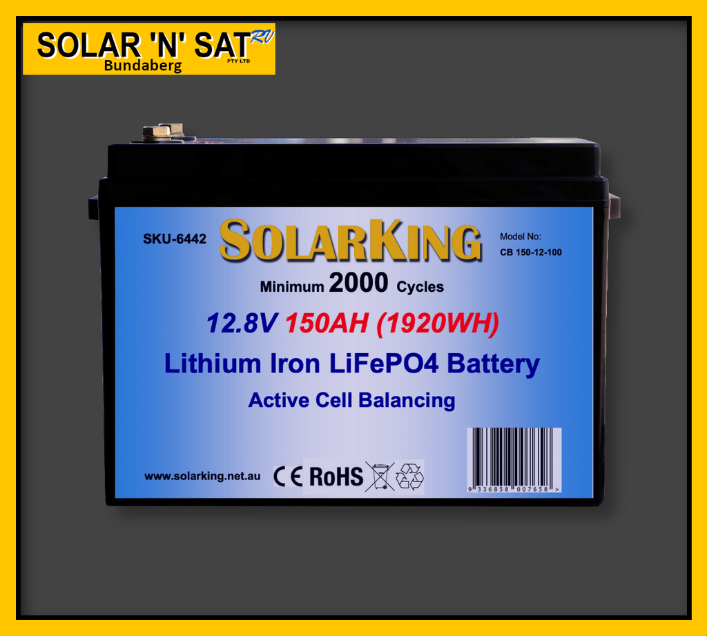 Battery Lithium Solarking 12.8v 150ah