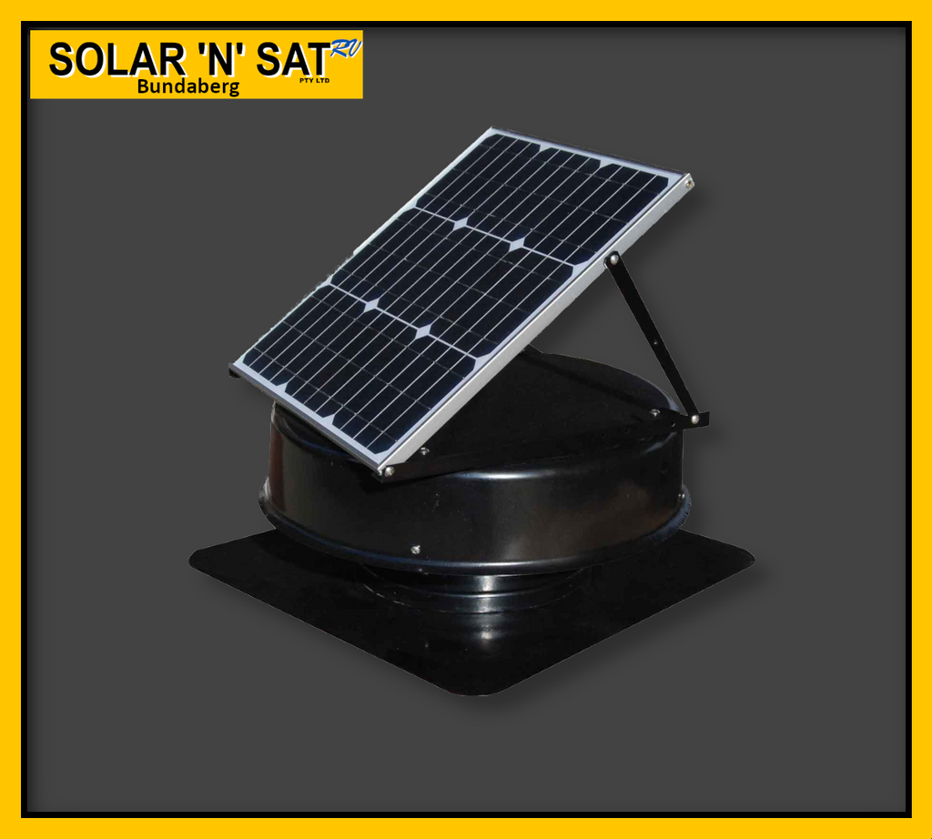 Solarking Solar Roof Ventilator to be Installed on a Roof of a House