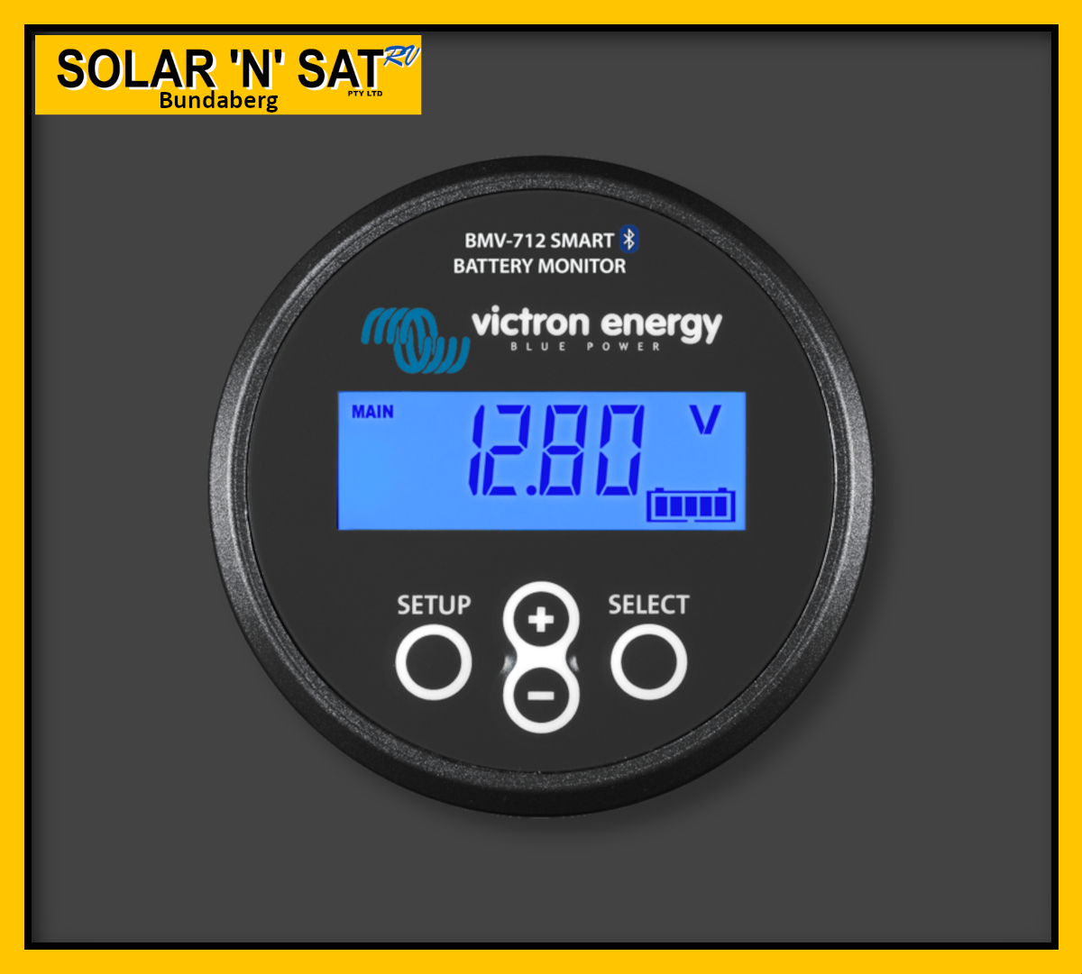 Monitor Victron Energy BMV712 Smart (Black)