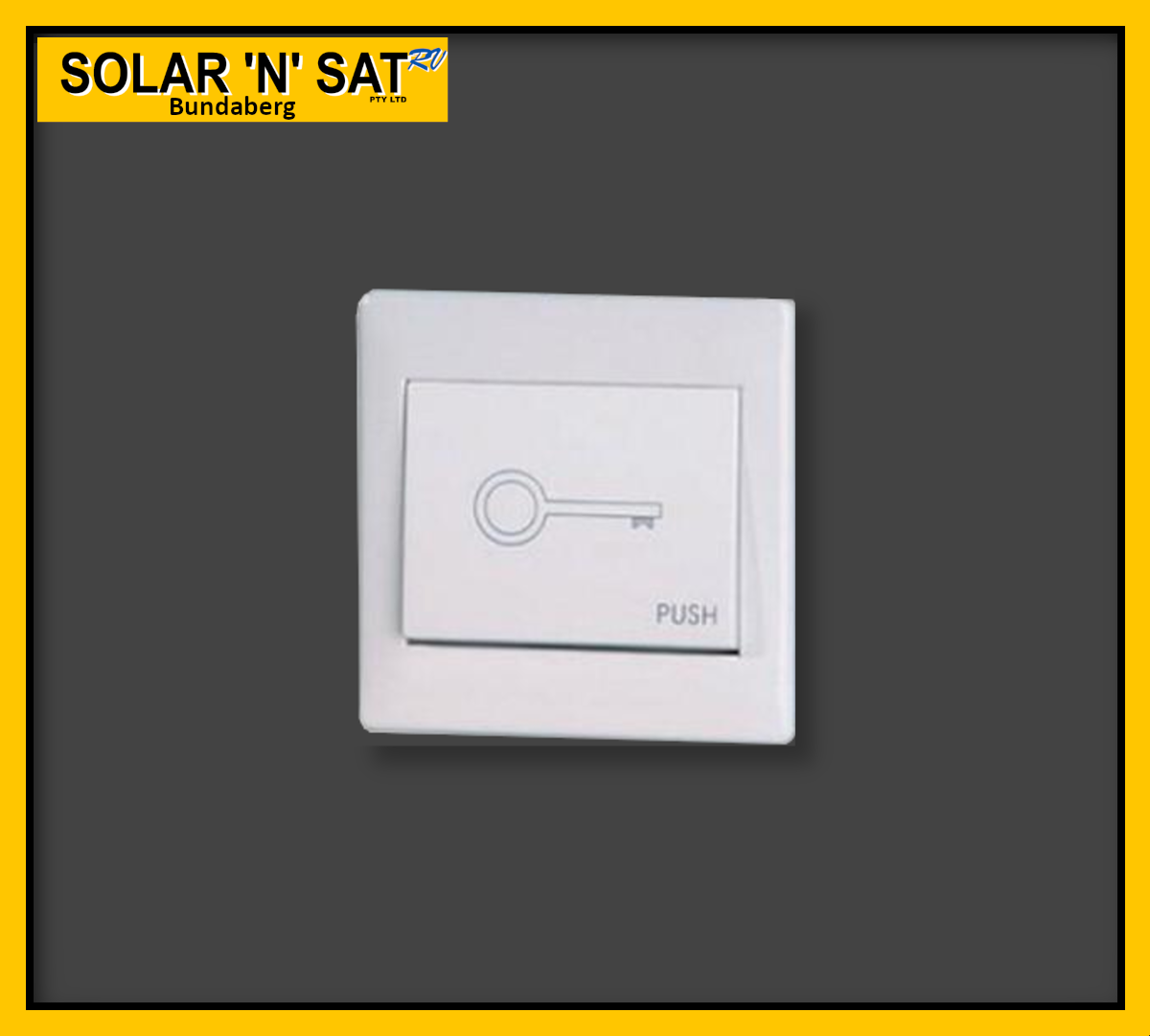Solar Gate Opener - Wall Push Button