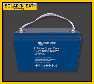 Victron Lithium SuperPack 12.8V 100ah Battery