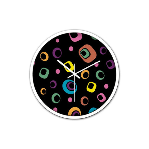 Dizzy Dots Clock