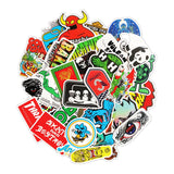 100 PCS Logo Stickers