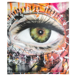 Eye See Graffiti Tapestry