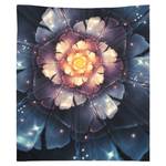 Electric Flower Tapestry