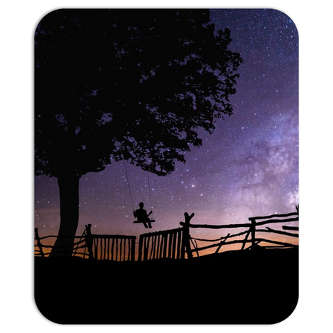 Night Swing Mouse Pad
