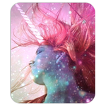 Unicorn Lady Mouse Pad