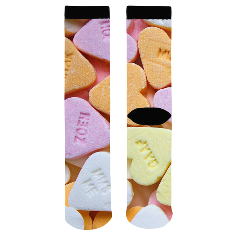 Candy Heart Socks