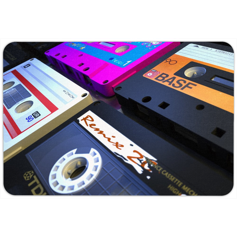 Retro Tape Floormat