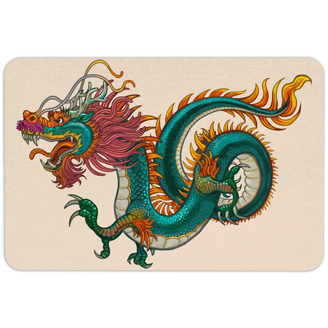 Chinese Dragon Floormat