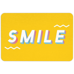 Just Smile Floormat