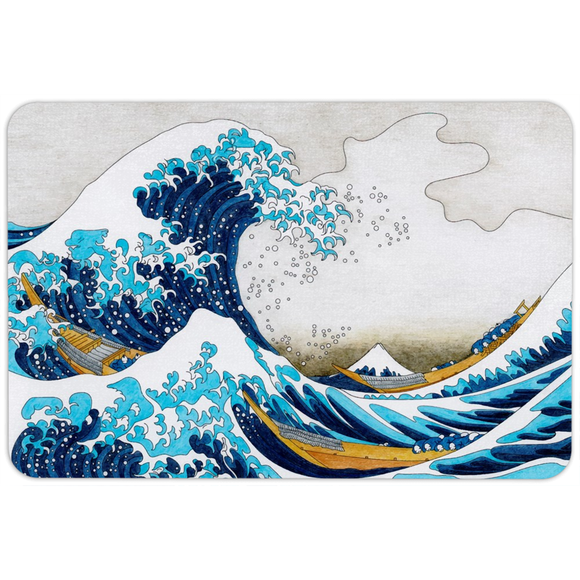 The Great Wave Floormat