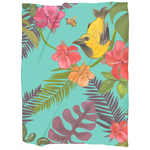 Hawaii Print Blanket