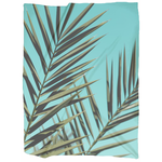 Tropical Leaf Blanket