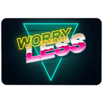 Worry Less Floormat