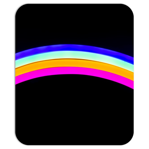 Simple Rainbow Mouse pad