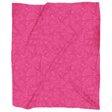 Pink Triangles Blanket