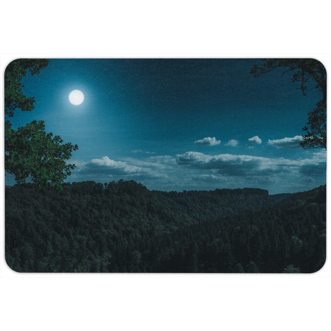 Moon Forest Floormat
