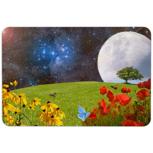 Space Garden Floormat