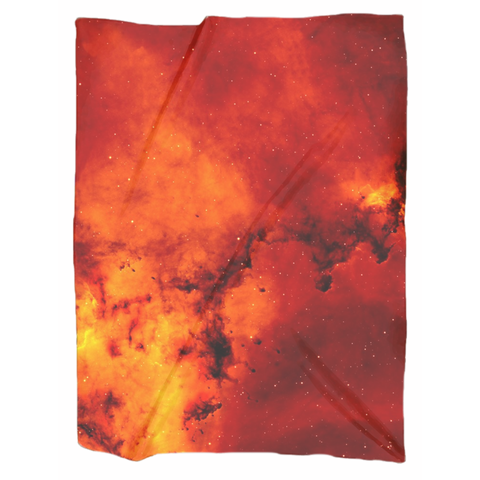 Red Galaxy Blanket