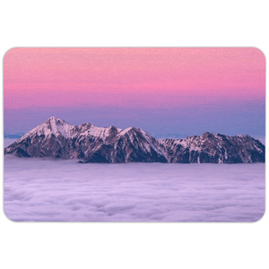 Sunset Mountain Floormat