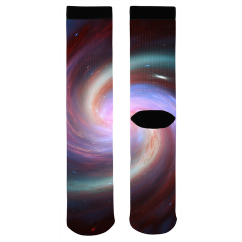 Spiral Galaxy Socks