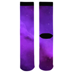 Purple Galaxy Socks