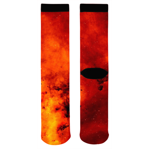Red Galaxy Socks