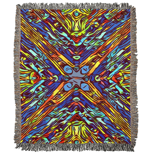 Mosaic Woven Blanket