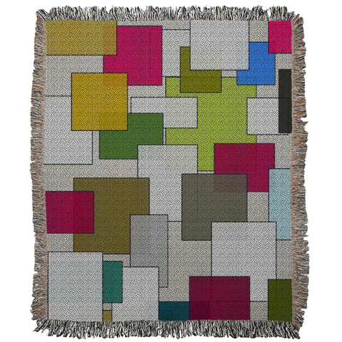 Squares Woven Blanket