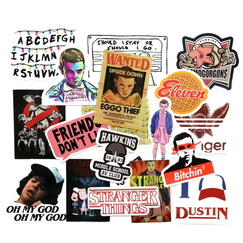19 Pcs Stranger Things Stickers