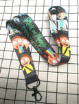 Rick And Morty Lanyard Key Chain