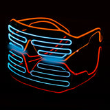 Flaring Fluorescent DJ Glasses