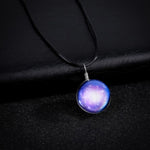 Star Glass Ball Universe Necklace