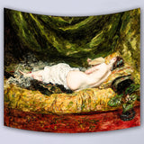 Painted Theme Wall Hanging Tapestries