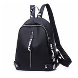 Casual Black Oxford Bag