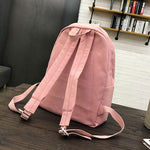 Campus Canvas Color Backpack Bag