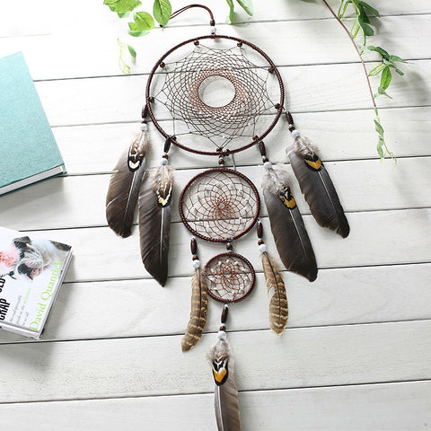 Nordic Feather Dream Catcher With Gift Box