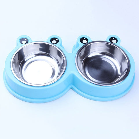 Double Feeder Pet Bowl