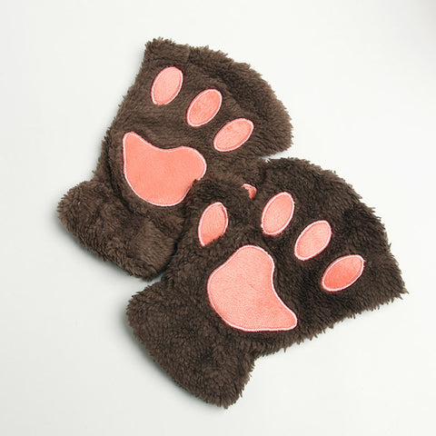 Animal Paw Gloves Costume