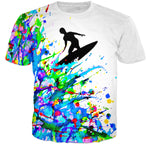 Color Surfer T-shirt